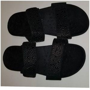 Vionic Samoa Sandals Black size 6